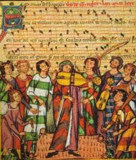 Instrumentistes - Codex Manesse