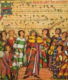 Instrumentistes - Codex Manesse